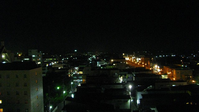 三沢の夜景